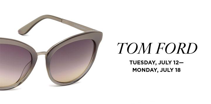 Tom Ford Sunglass Trunk Show