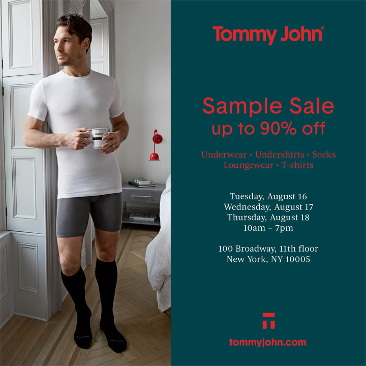 Tommy John Sample Sale