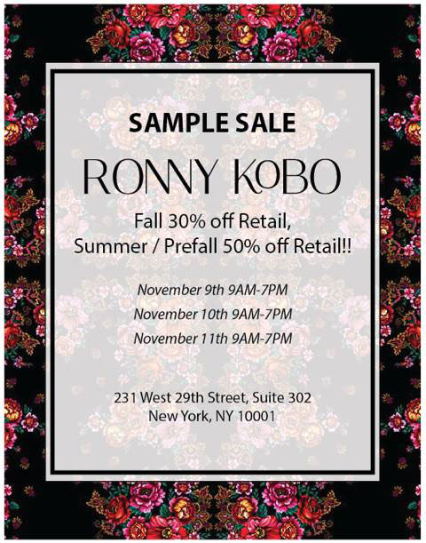 Torn by Ronny Kobo Sample Sale