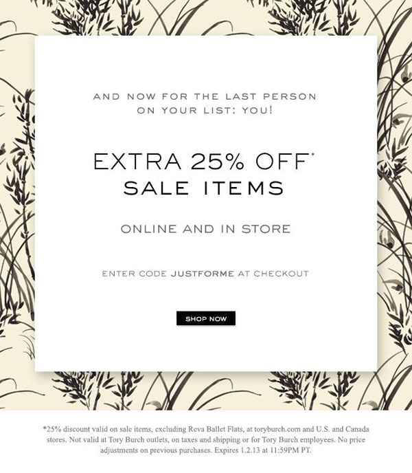 Tory Burch Clothing & Accessories New York After-Christmas Online ...