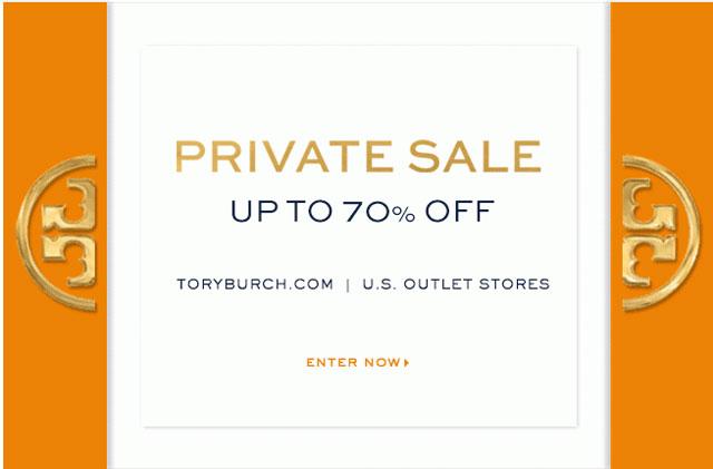 Tory Burch Private Sale
