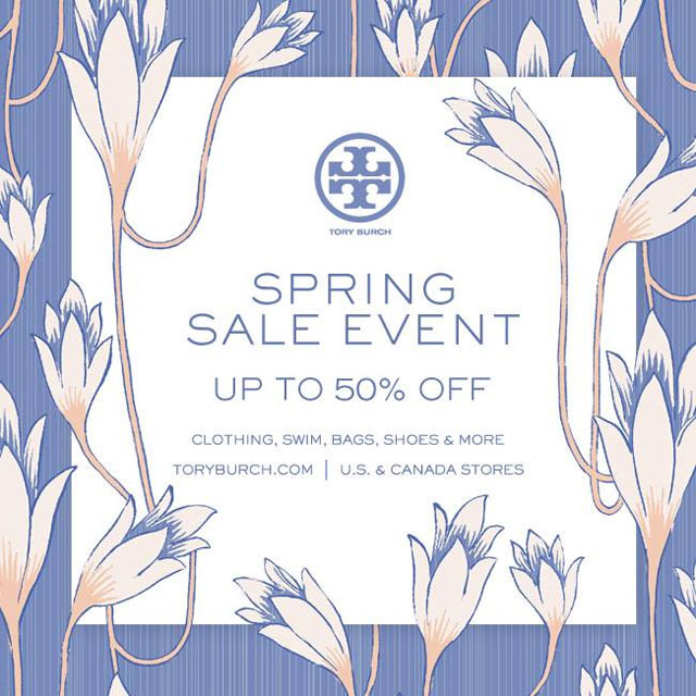 Tory Burch Spring Retail Sale