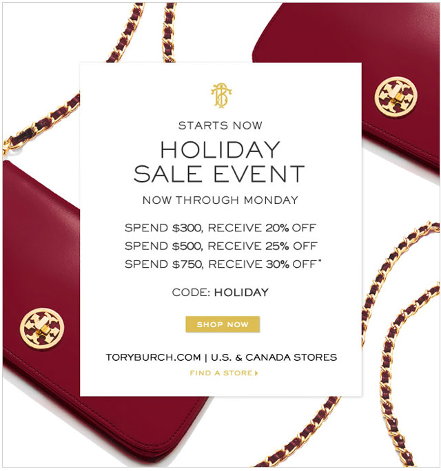 3b8f8dbee958d7 Tory Burch Clothing   Accessories New York Thanksgiving Holiday Sale ...