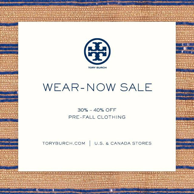 Tory Burch Wear-Now Sale