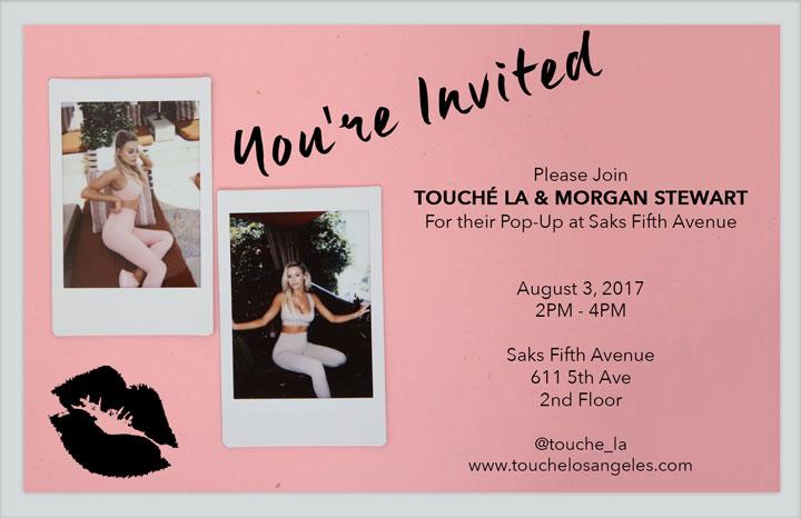 Touché LA x Morgan Stewart Pop Up Shop