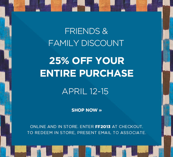 Tracy Reese Friends & Family Sale