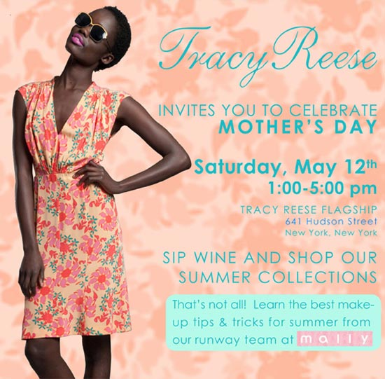 Tracy Reese Mother's Day Event