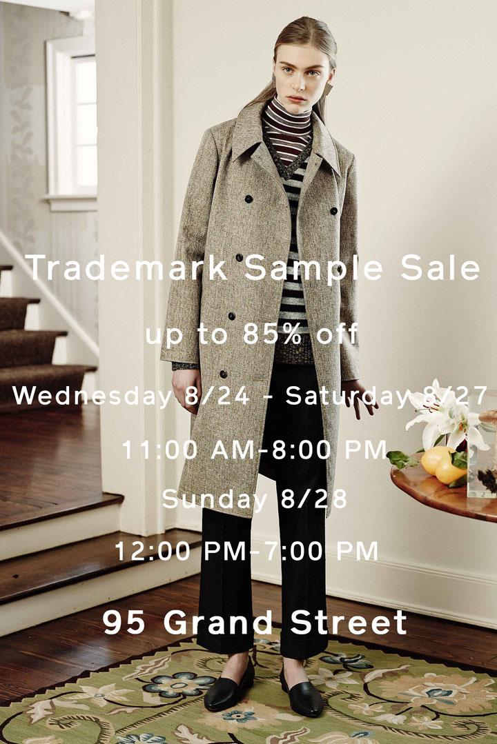 Trademark Sample Sale