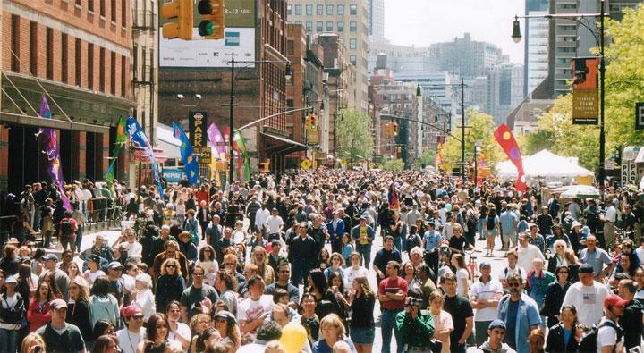 Tribeca on Location: The Tribeca Film Festival Street Fair