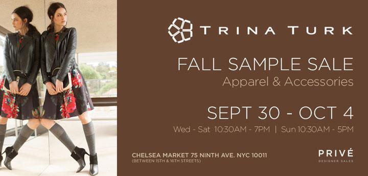 Trina Turk Clothing New York Fall Sample Sale - TheStylishCity.com