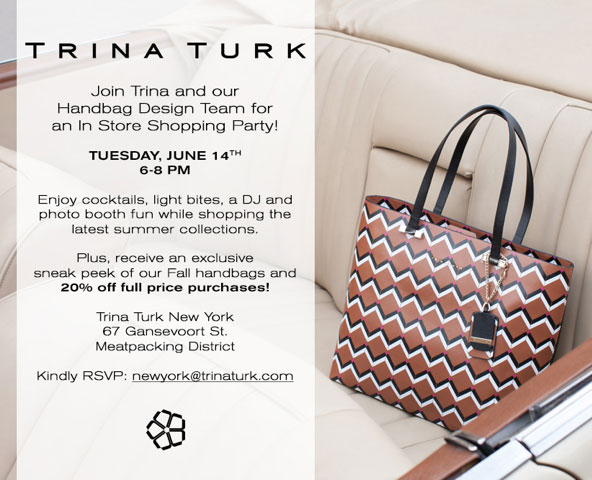 Trina Turk In-Store Shopping Party