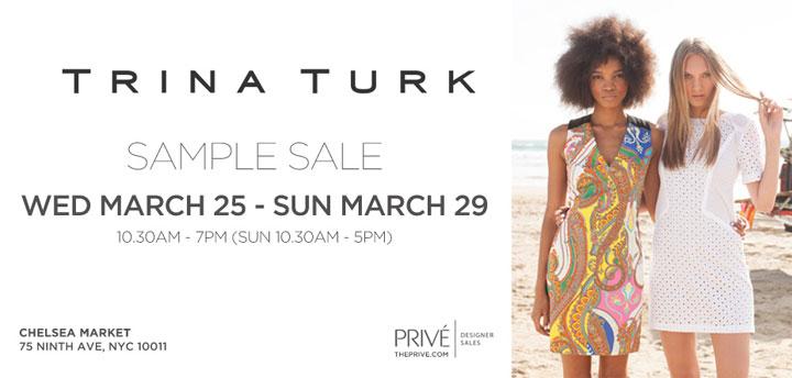 Trina Turk Clothing New York Sample Sale - TheStylishCity.com