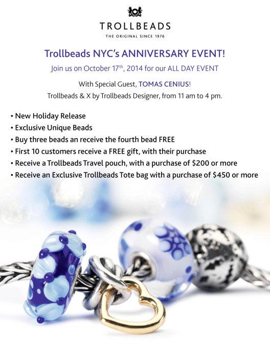 Trollbeads NYC Anniversary Event
