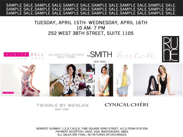 Twinkle by Wenlan, Hunter Bell, & More Sample Sale