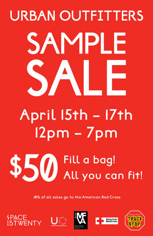 Urban Outfitters Sample Sale