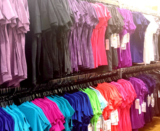 Shorts for $17.99, Short sleeve tops for $19.99 at Under Armour Sample Sale