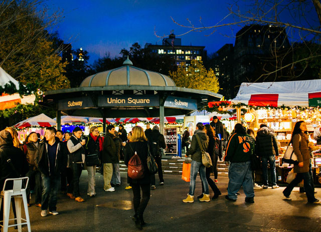 Best Overall: The Union Square Holiday Market