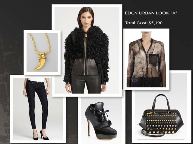 Urban-Edgy Fashion Look A