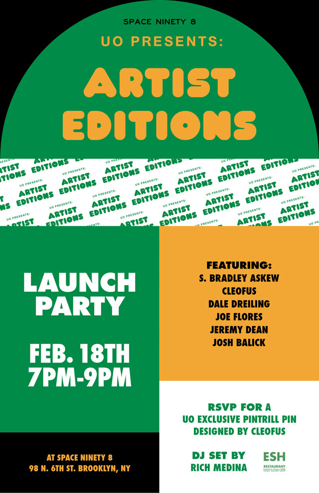 Urban Outfitters Artist Editions Launch Party