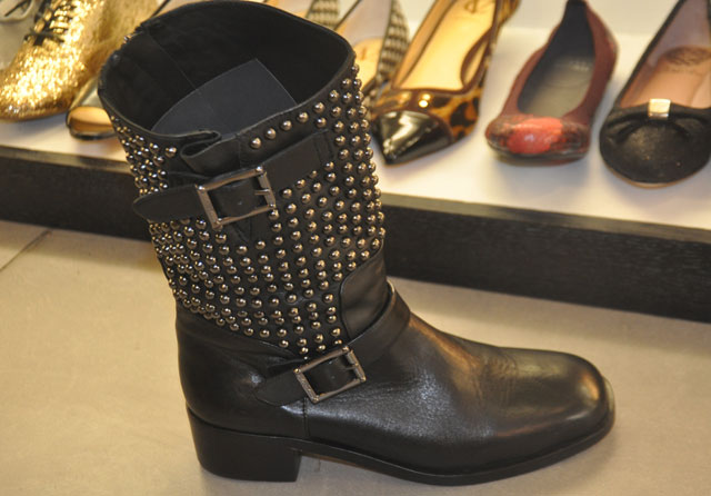 VC Signature Waris Boot with studded embellishment ($120, orig. $450)