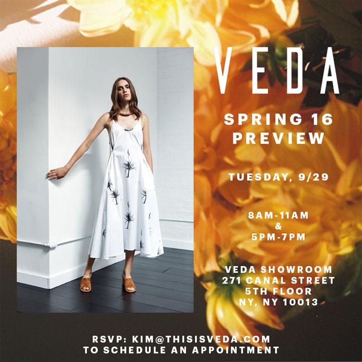 VEDA Spring 2016 Preview