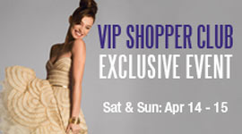 VIP Shopper Club Exclusive Event at Woodbury Common Premium Outlets