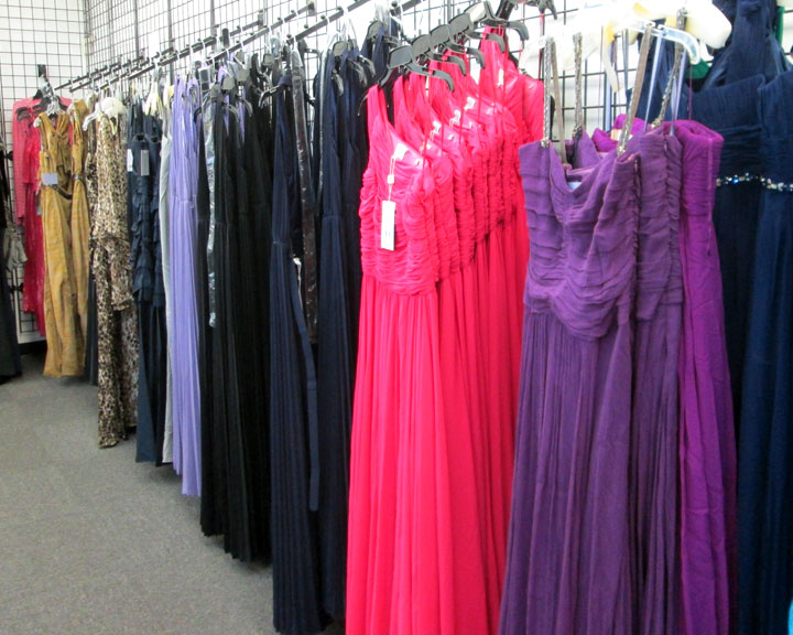 Gowns from premium brands, the real reason to attend the sale
