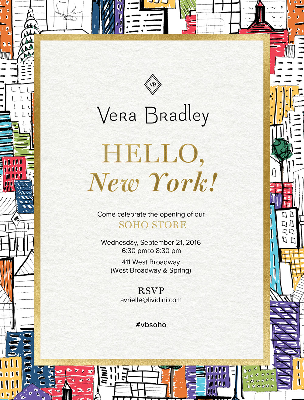Vera Bradley SoHo Store Opening Event