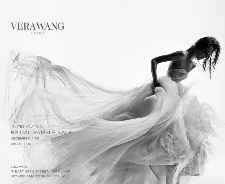 Vera Wang Bride Sample Sale