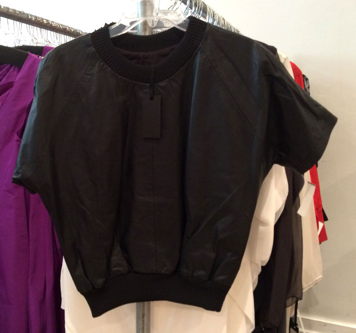 Leather Top for $250