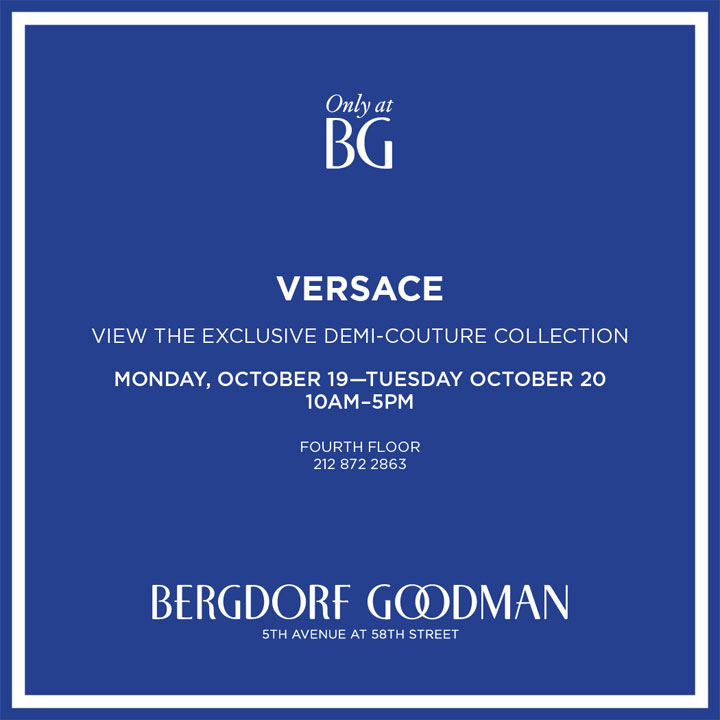 Versace Demi-Couture Trunk Show