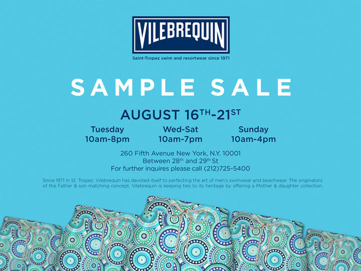 Vilebrequin Sample Sale