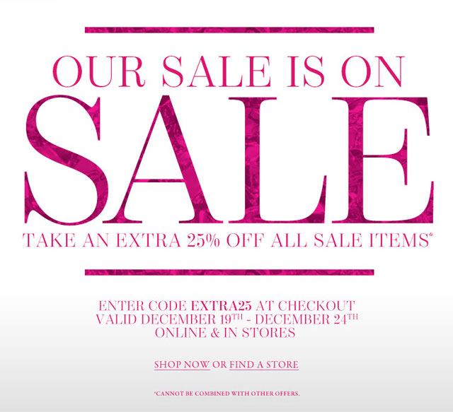 Vince camuto clothing accessories new york holiday sale for Christmas decs sale
