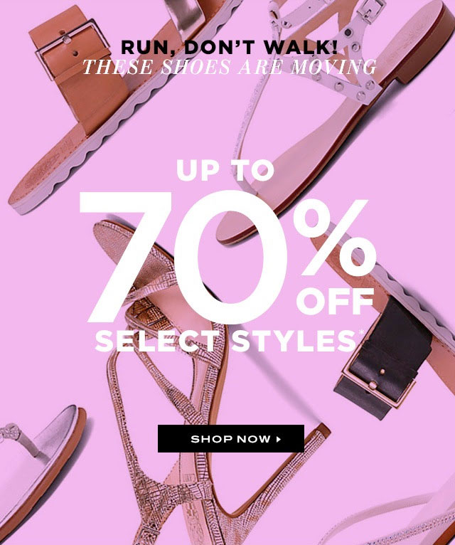 Vince Camuto Summer Retail Sale