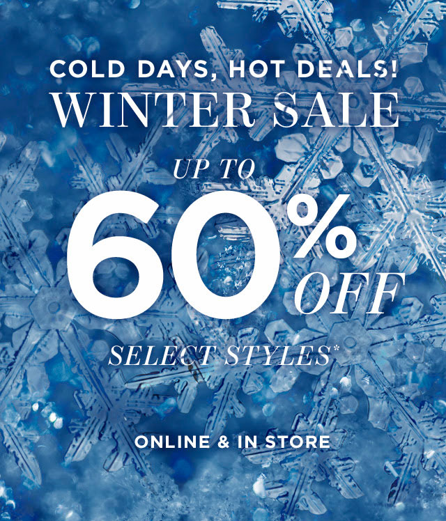 Vince Camuto Winter Retail Sale