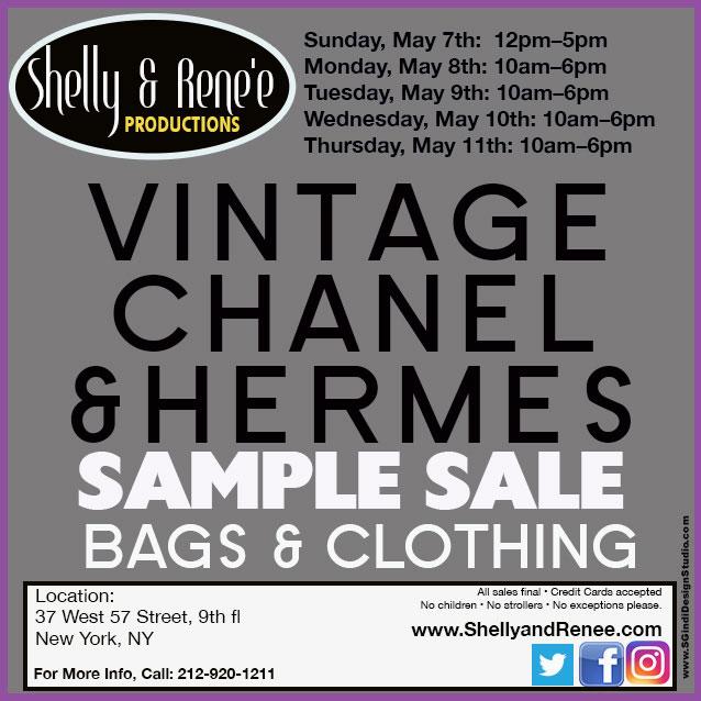 Vintage Chanel Sample Sale