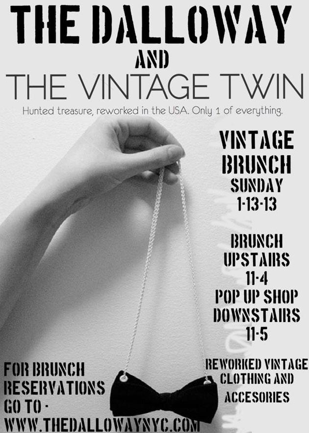 Vintage Twin Pop-up Shop