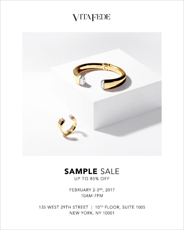 Vita Fede Sample Sale