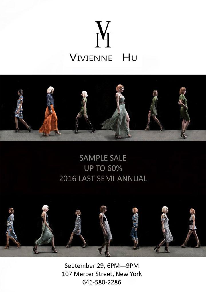 Vivienne Hu Sample Sale