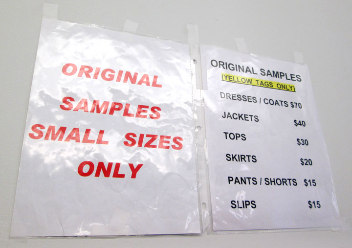 Vivienne Tam Sample Sale Price List