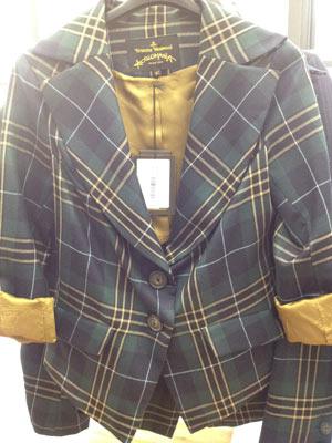Vivienne Westwood Jabot Cross Jacket ($270)