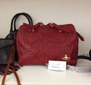 Vivienne Westwood Spitifield Bag in Red ($410))