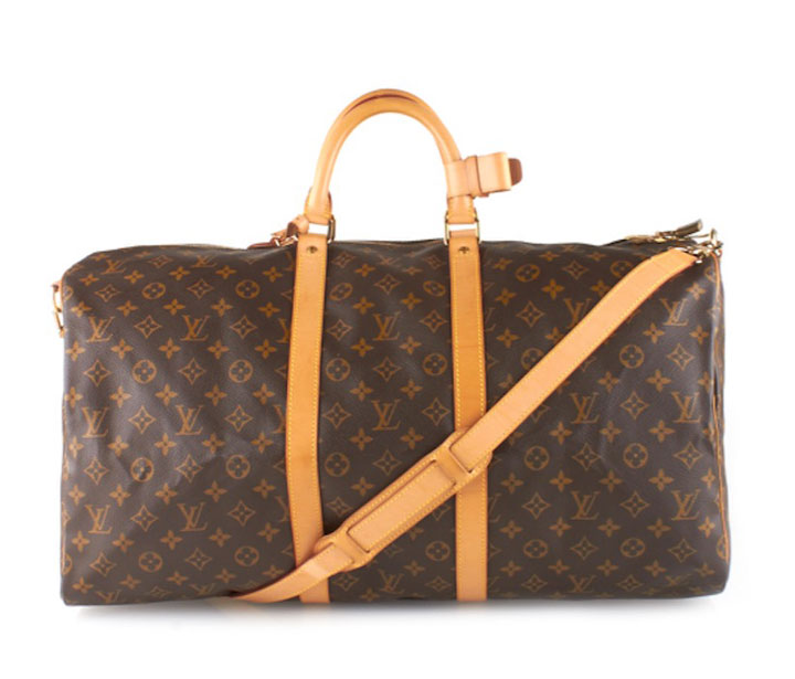 Louis Vuitton Keepall bags originally $1,695, sale price starts at $750