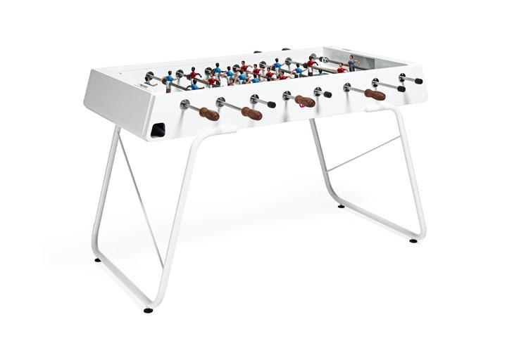 White Steel Foosball Table – originally: $3,500 now: $2,800
