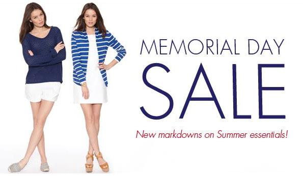 White + Warren Memorial Day Online Sale
