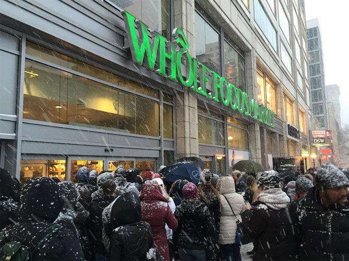 Whole Foods @AmandaWills #Blizzardof2015