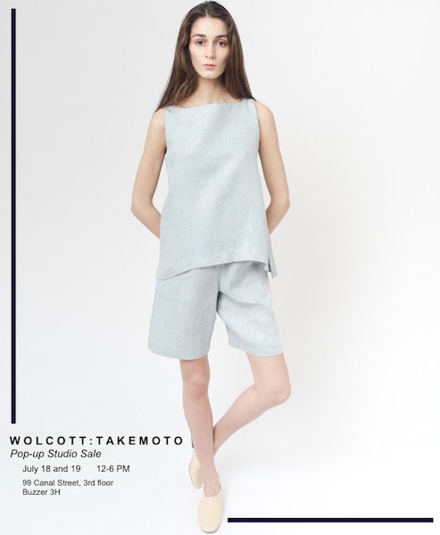 Wolcott : Takemoto Sample Sale