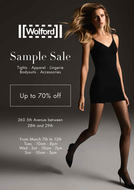 Wolford Sample Sale