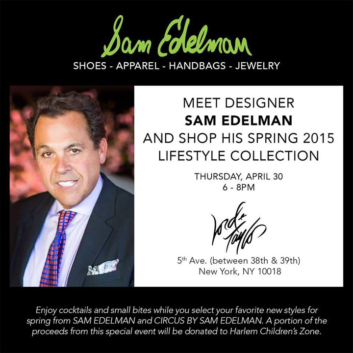 World of Sam Edelman Event