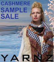 Yarnz Cashmere Sample Sale